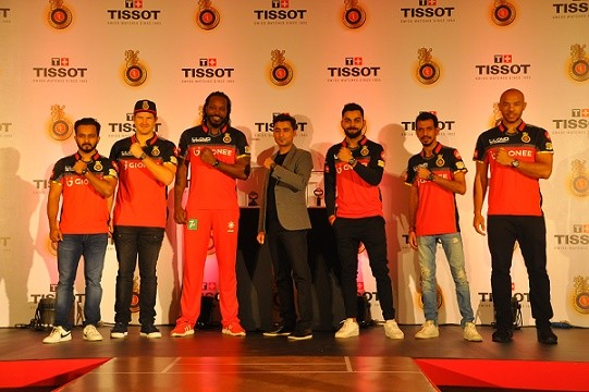 Tissot Partners with RCB as the Official Watch